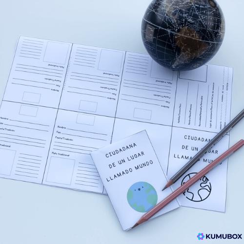 Trabaja otras culturas en clase. Giotto Skins tones. Pasaporte para investigar otros países y costumbres. Descargable para clase. Booklet template passport. Plantilla descargable pasaporte. Ideas para clase de primaria. Ideas para trabajar la escritura. Ideas creativas para clase.