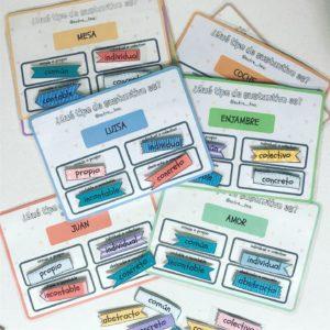 Sustantivos - clasificación