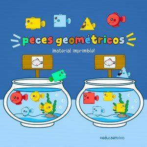 juego educativo de peces geométricos