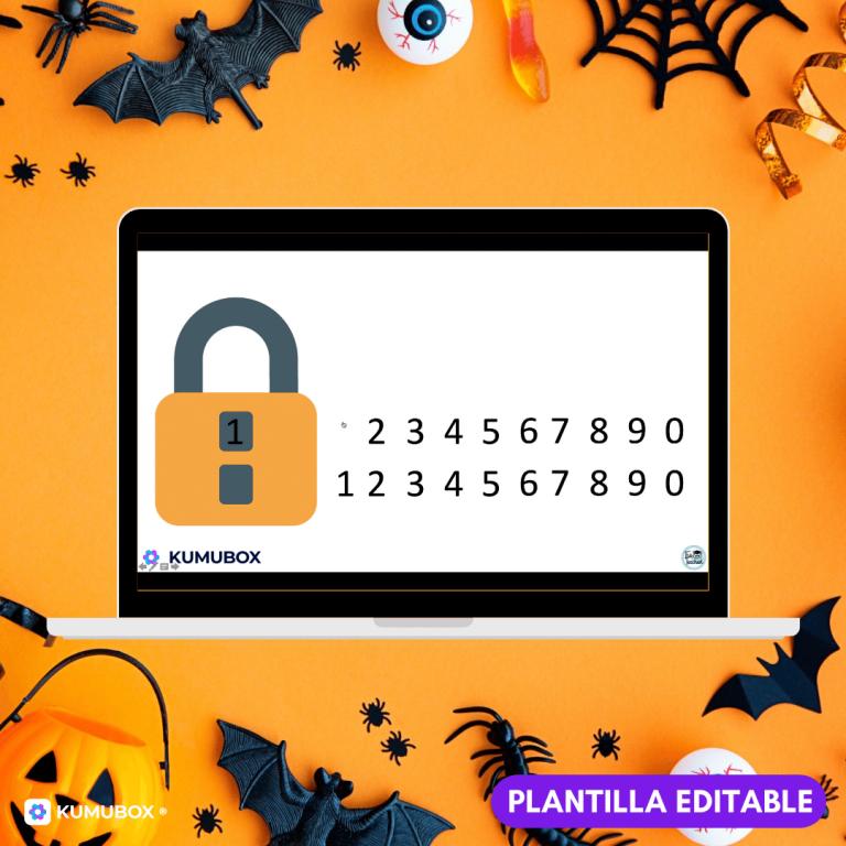 - Candados interactivos de Halloween