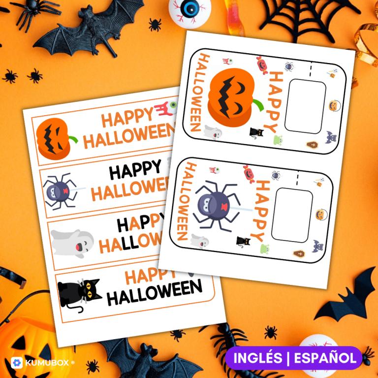 Detalles decorativos de Halloween